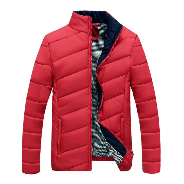 Brand Tops New Men's Cotton Blend Coat Padded Jacket Casual Thick Outwear For Men Winter Plus Size 3XL Clothing For Men N-5