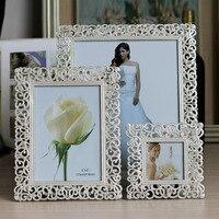 Europe Metal Picture Frame European Alloy Photo Frames Home Decor Item Desktop Gifts