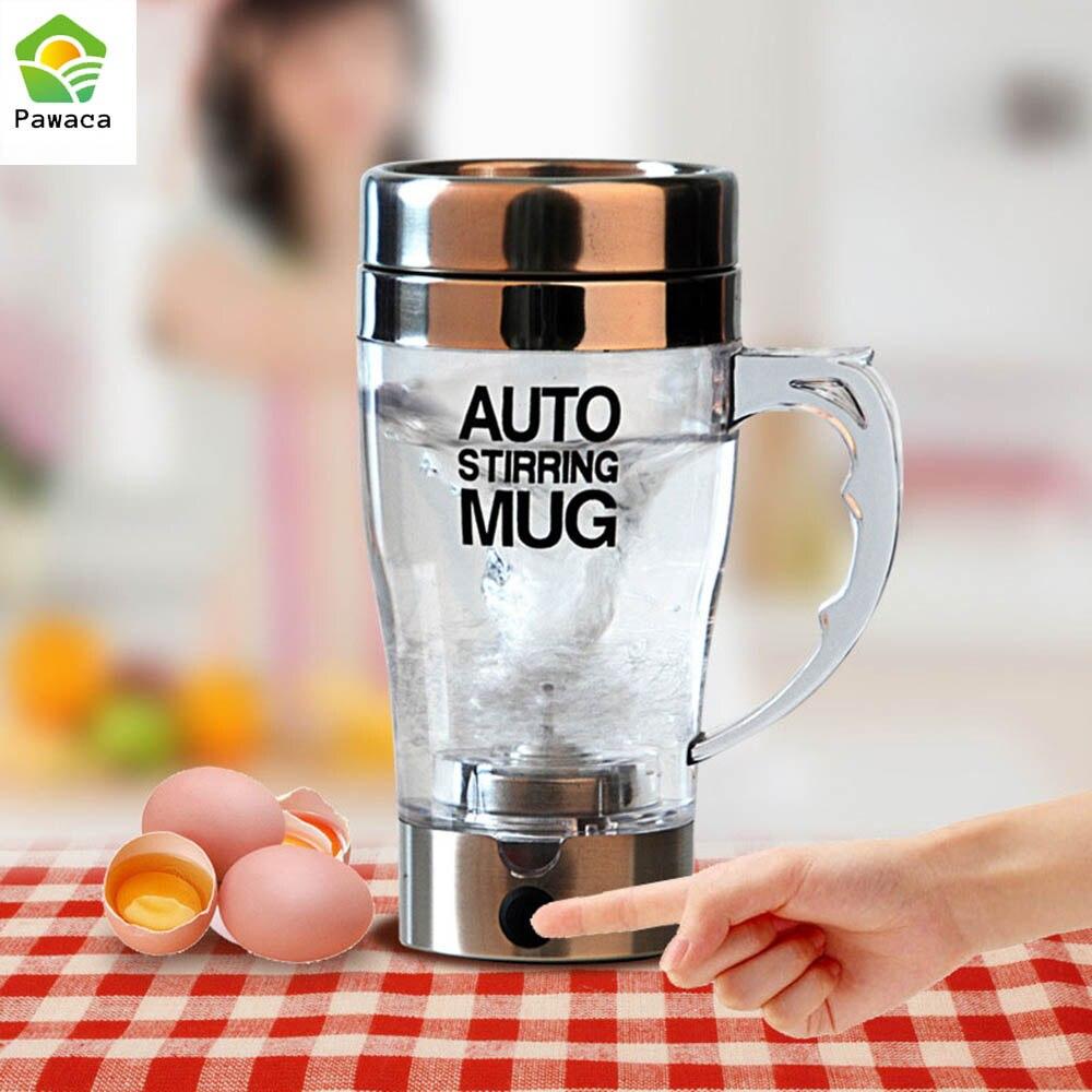 Selbst Rühren Becher Automatische Kaffee Milch Mischen Becher Smart Mixer Tasse Thermische Tasse Doppelt Isolierte Tasse Elektrische Protein Shaker Mixer