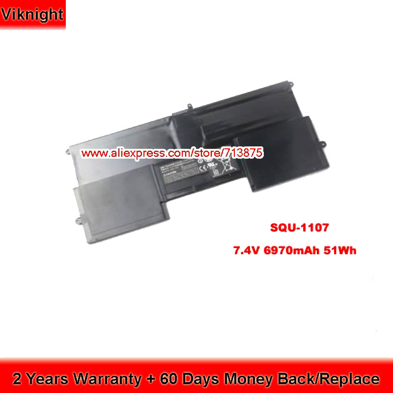 цена CT14 SQU-1107 Battery For Vizio CT14-A0, CT14-A1, CT14-A2, CT14-A4, CT14-A5