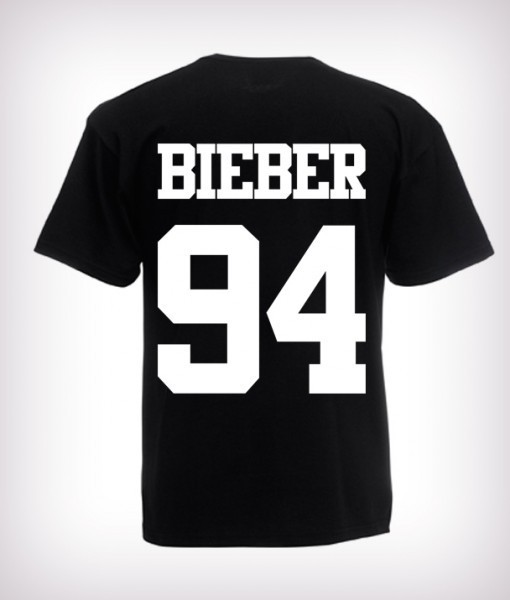 2016 Fashion Justin Bieber T Shirt band boy t shirt rock hip hop ...