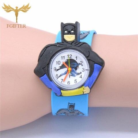 Kid Watches Captain America Cartoon Boys Watches Quartz Superman Avengers Anime Child Clocks Children Boy Gifts Multan