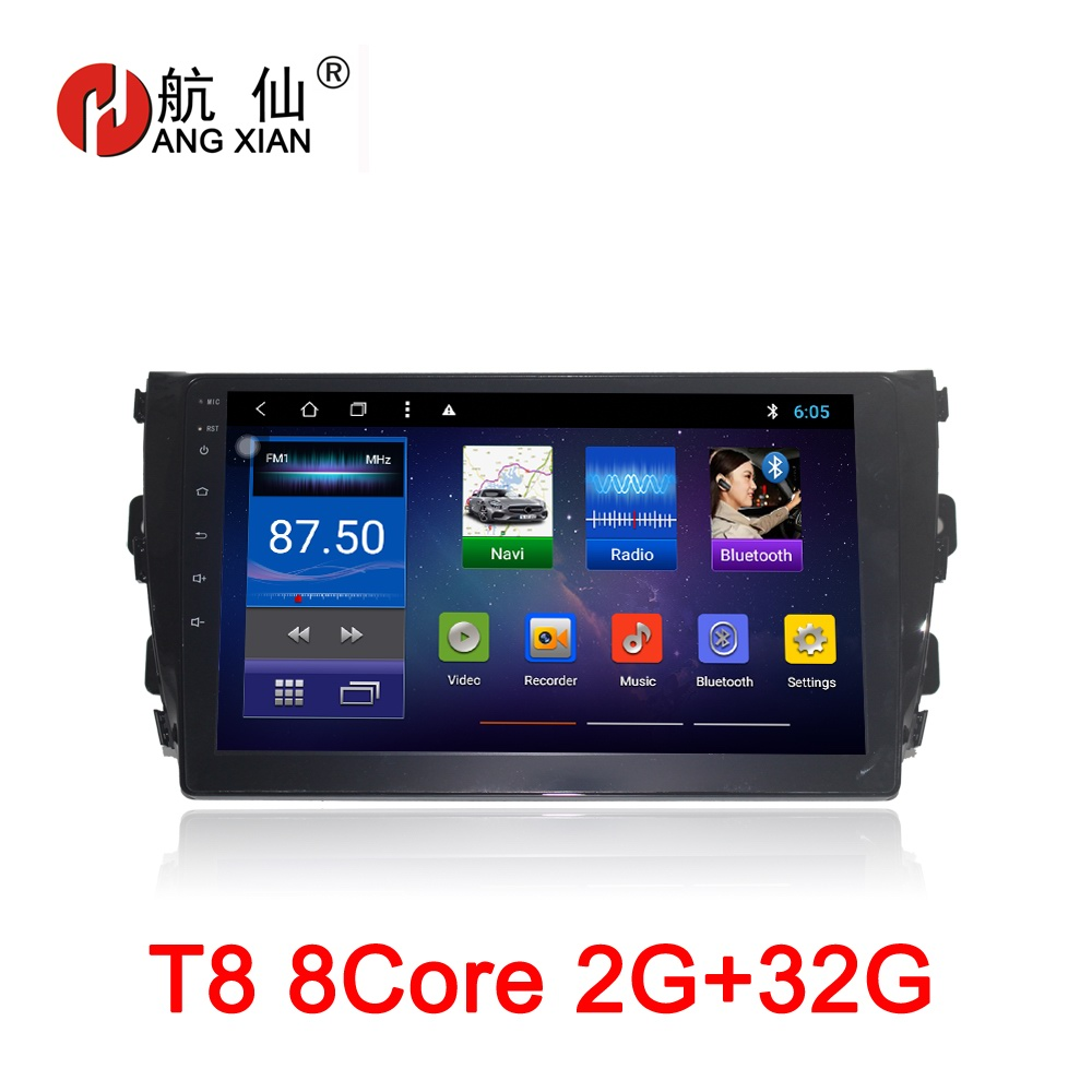 10 inch Android 8.1 Octa 8 Core 2G RAM 32G ROM Car DVD Player for ZOTYE T600 Car Radio GPS Navigation WIFI car stereo цена