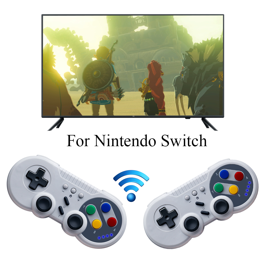 Joystick Console Remote-Gamepad Nintend-Switch Bluetooth Wireless-Controller for Pro