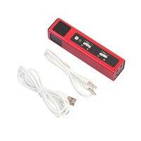 DOITOP Mini Microfono Per iphone Android Smartphone MU101 Professionale Karaoke Player Integrato Riverbero microfono