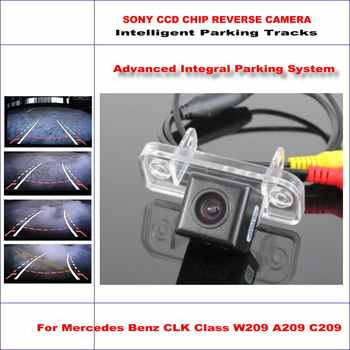 Dynamische Beratung Rückfahrkamera Für MB Mercedes Benz Clk-klasse W209 A209/580 Tv-linien HD 860 Pixel Parkplatz Intelligentized
