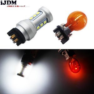 Image 5 - Bombillas LED de xenón para coche, luz blanca Canbus PWY24W PW24W para Audi A3, A4, A5, Q3, VW, MK7, Golf, CC, luces intermitentes delanteras para BMW F30, Serie 3, DRL