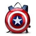 Капитан Америка щит рюкзаки мужчин и женщин пару моделей мстители мода высокое качество путешествия плечо школьные сумки
