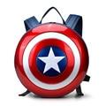 Captain America the avengers shield de mochilas hombres y mujeres modelos de pareja de moda de alta calidad de viaje bolsos de escuela del hombro