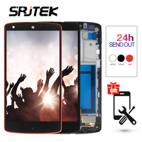 Srjtek screen for LG Google Nexus 5 D820 D821 LCD Display Panel with Touch Screen Digitizer Frame Assembly 100% Tested