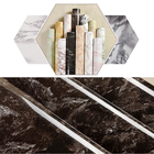 Marble Vinyl Self Adhesive Wall sticker PVC Waterproof Wall Stickers Bathroom Kitchen Cabinet Wallpaper Home Decor Decals