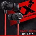 HA-Fx1x Stereo Earphones 3.5mm In-Ear Earbuds FX1X Super Bass Headset fone de ouvido Sound Quality