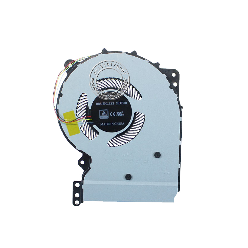 New Laptop Cooling Fan For ASUS X407 X407UA X407UA-BV113R FKLN DFS561405PL0T CPU Cooling Fan 13NB0HQ0T01011