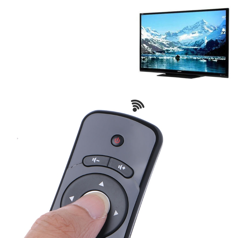цена T2 Fly Air Mouse 2.4G Wireless 3D Gyro Motion Stick Remote Control For PC Smart TV