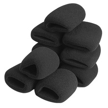 Buy 10 Pcs/Set Microphone Grill Foam Cover Audio Mic Shield Sponge Cap Holder S288 directly from merchant!