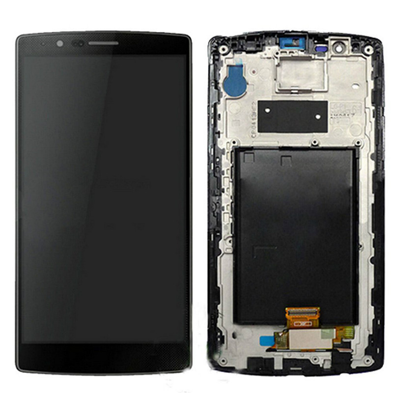 ФОТО Black LCD Display Digitizer For LG G4 Touch Screen Digitizer Assembly With LOGO For LG G4 VS986 free shipping