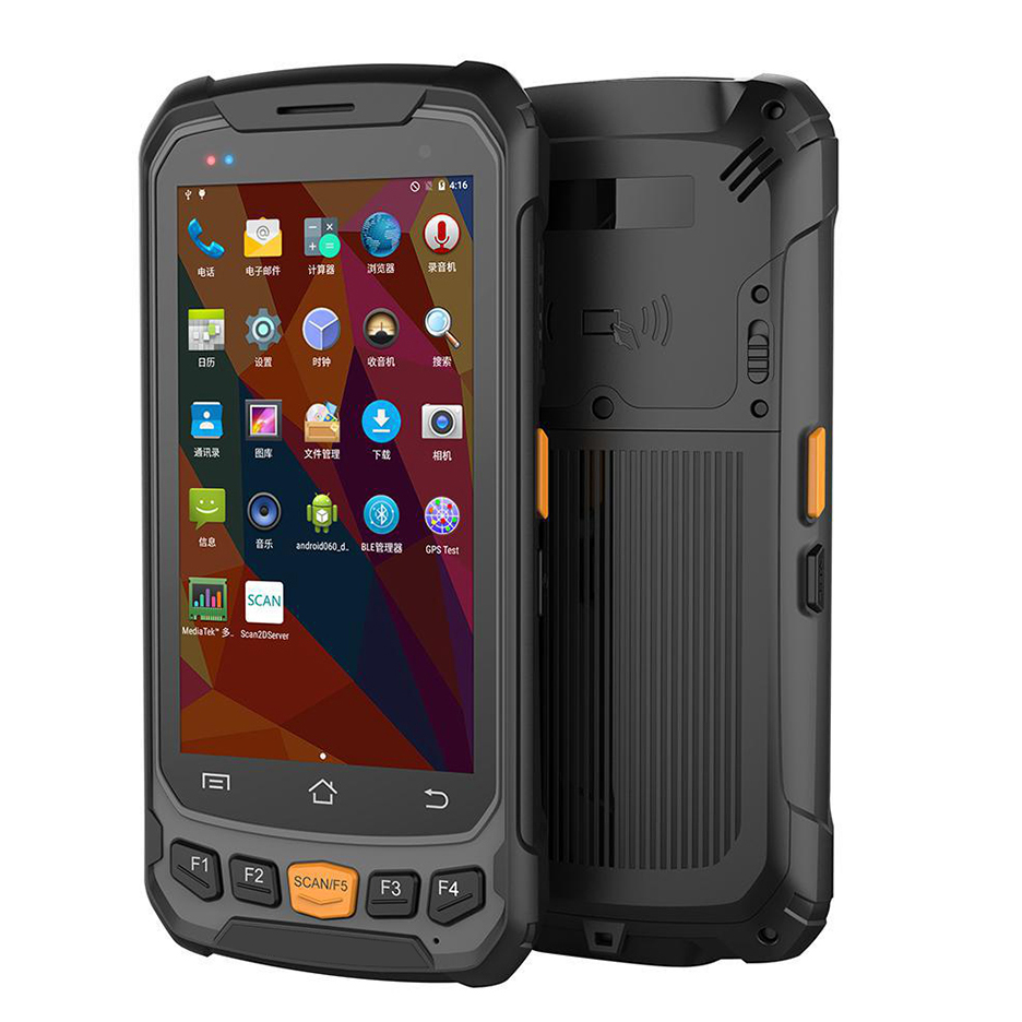 Wireless industrial warehouse stock management rugged mobile pda portable android handheld pda machine