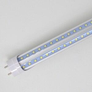 """Image 4 - 2 50/パック v 型 led チューブライト 2ft 3ft 4ft 5ft 6ft 蛍光電球超高輝度 24 """"36"""" 48 """"60"""" 70 """"T8 G13 バーランプ"""