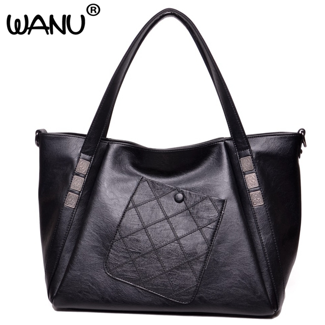 Ladies Fashion High Quality Synthetic Leather Shoulder Bag