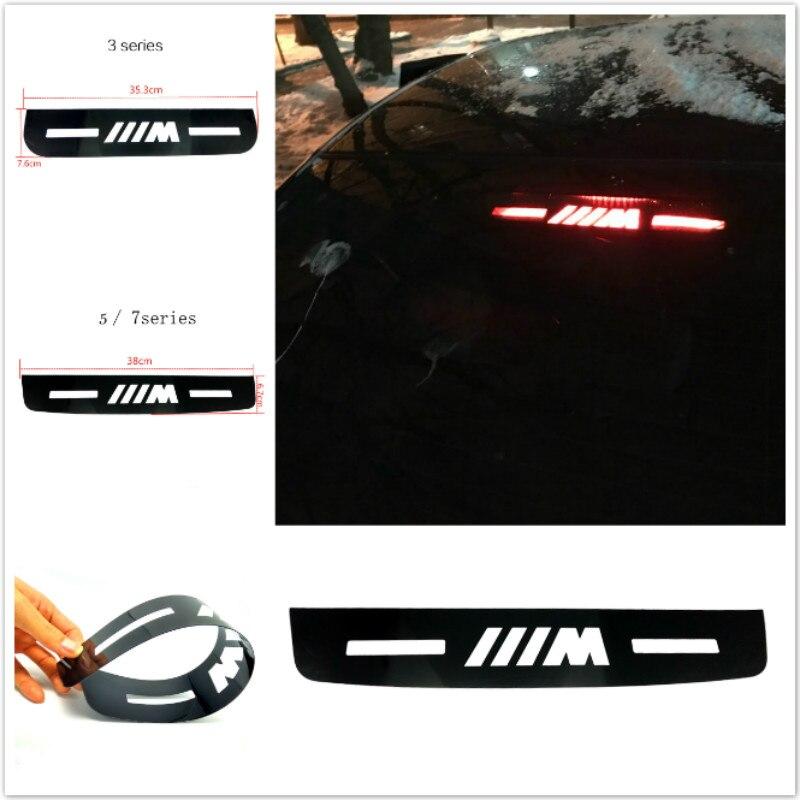 Car Styling Brake Light Sticker For BMW E46 E90 E91 E92 E93 F30 F31 F35 F80 F10 F01 F02 F03 F04 3 5 7Series Auto Car accessories защитные аксессуары car pakistan bmw alpina