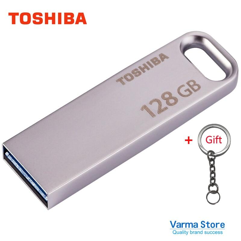 все цены на Toshiba USB Flash Drive 3.0 U363 Metal Drive USB3.0 High-Speed 128GB usb stick USB flash disk Transmemory flashdisk pendrive
