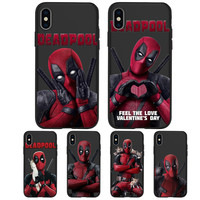 Deadpool Printed Phone Cases For Apple Iphone (6 Styles) 1