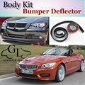 Para BMW Z4 Z4M E85 E89 Pára Lábio Lábios/BOA SORTE loja de Spoiler Para Carro Tuning/TOPGEAR Recomendar Body Kit + Tira