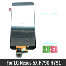 100% Testato Nuovo Parti di Ricambio Lcd Display Per LG Nexus 5X H790 H791 LCD Touch Screen Digitizer Assembly Nexus5X(China)