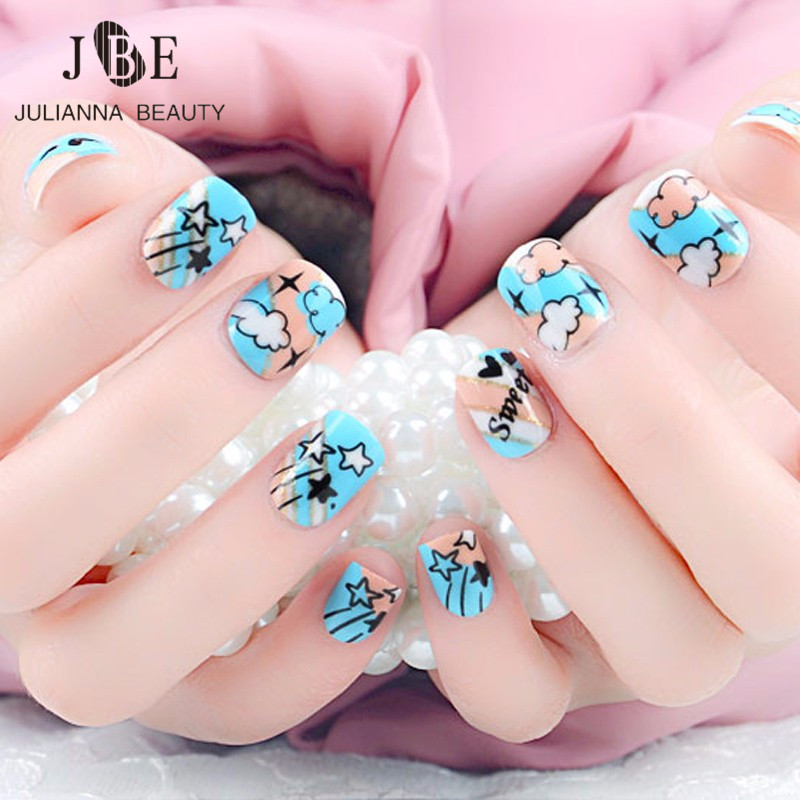 Amazing False Nails For Kids Pictures - Nail Art Ideas - morihati.com