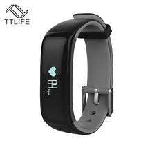 TTLIFE Bluetooth 4.0 Смарт Браслет Приборы для измерения артериального давления Мониторы носимых ЧСС Мониторы смарт-браслет для мобильного телефона
