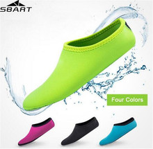 SBART Water Sports Diving Socks Anti Skid Beach  2MM Neoprene Swimming Surfing Shoes for Adult Boots Wetsuit