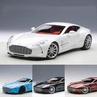 1:18 литья под давлением модели AstonMartin один 77 купе для сплава игрушечный автомобиль миниатюрный коллекция подарок для детей Мальчики