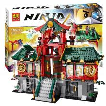 1223pcs Bela 9797 Original Box Gifts Set Battle for Ninja City Minifigures Sets Building Bricks Toys Gifts Compatible With Lego