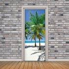 3D Door Mural On The...
