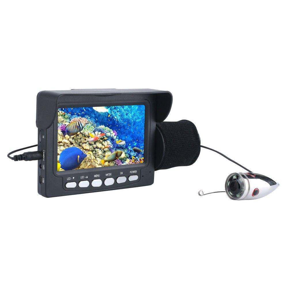 Indicador de Profundidade Sensor Fish Finder Transdutor Alarme