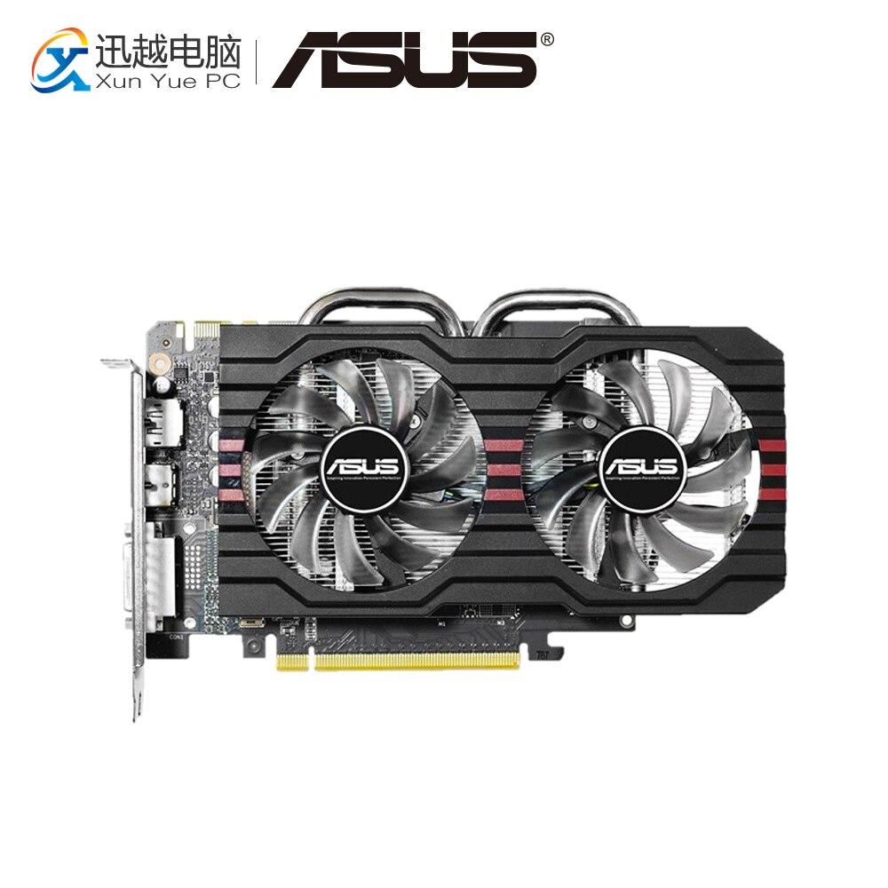 все цены на ASUS GTX 760-DF-2GD5 GDDR5 Original Graphics Cards 2GB GDDR5 256 Bit GTX 760 Video Card DVI HDMI DP For Nvidia GTX760 онлайн
