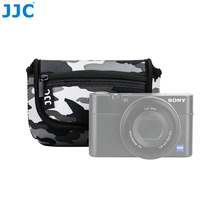 JJC Compact Cameras Bag Case for Sony RX100 RX100 II RX100 III RX100 IV RX100 V RX100 VI/Olympus TG-5 TG-4 TG-3 TG-2/Canon G7X цена и фото