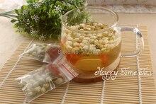 10 sobres para embarazadas obstétricos té, crisantemo buds, flor de jazmín, wolfberry, combinación de té perfumado, envío gratis
