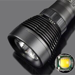 Image 3 - z25 led flashlight 5000LM XM L T6 LED Underwater Diving under water 80m Flashlight IP8 Waterproof Torch Swimming Submarine