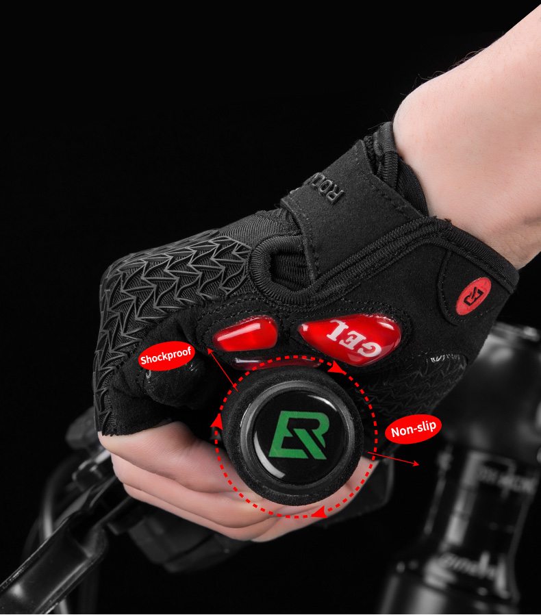 HTB1OtYSOPDpK1RjSZFrq6y78VXaj - ROCKBROS Cycling Gloves MTB Road Gloves Mountain Bike Half Finger Gloves Men