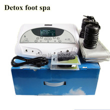 2015 Hot sale ion cleanse detox foot spa portable spa ionizer foot detox machine Detox foot spa with belt