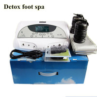 2018 Hot sale ion cleanse detox foot spa portable spa ionizer foot detox machine electric foot care tool with belt