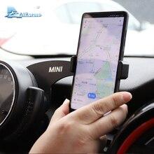 Velocidade MINI Suporte Volante Auto Montar Telefone Do Carro Montar Titular Do Telefone Móvel para Mini Cooper Countryman F60 Acessórios