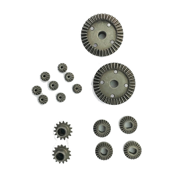 2 Sets Tpower 16pc Upgrade Parts Metal Gear For Wltoys 1 18 A949