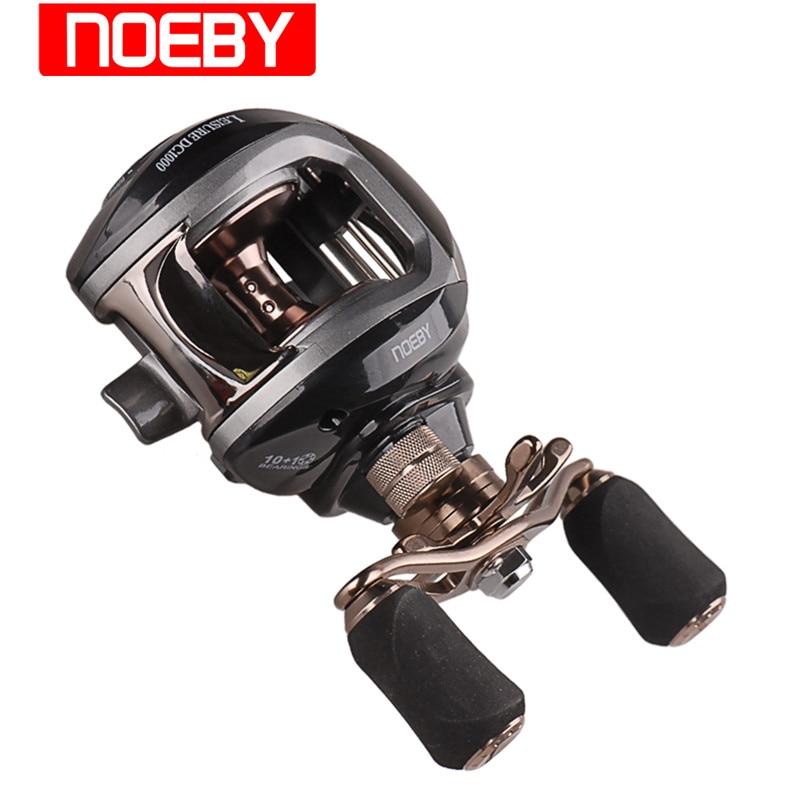 ФОТО New NOEBY Fishing Reel 10+1BB 6.3:1 Carretel De Carretilhas Pesca Moulinet Peche Baitcasting Spool Trolling Reels 1000
