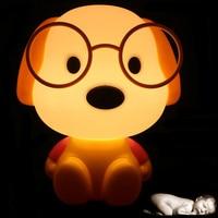 Novelty LED Bulb Baby Room Panda Rabbit Dog Cat Cartoon Kids Bed Side Desk Lamp LED