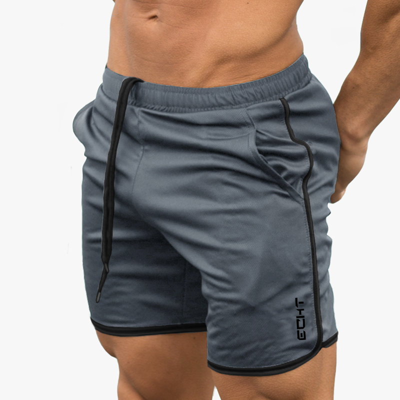 Males Breathable Mesh Cool Shorts Summer season Seaside Brief Pants Male Gyms Health Exercise Bodybuilding Jogger Crossfit Model Sportswear