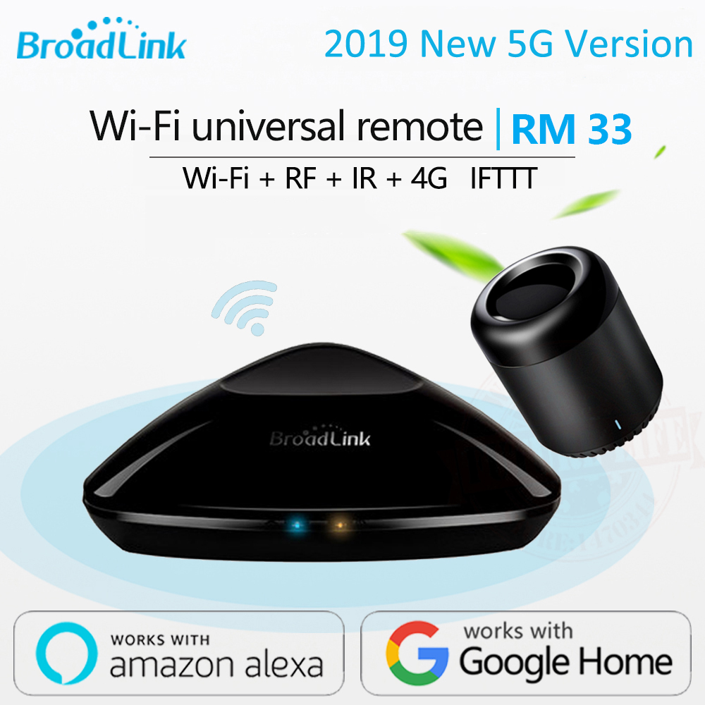 2019 neueste Broadlink RM Pro + RM33 RM mini3 Smart Home Automation WIFI + IR + RF + 4G universal Controller für iOS Android