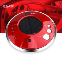 Usb And Solar Auto Humidifier Negative Ion Vehicle Air Purifier Car Perfume Machine Air Oxygen Bar