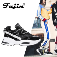 FUJIN Brand Women Casual Sneakers Women Flats Spring Autumn Summer Females Shoes Lace Up Plus Size Comfortable for Women Shoes